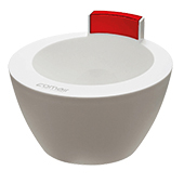 Treatment Bowl white/red